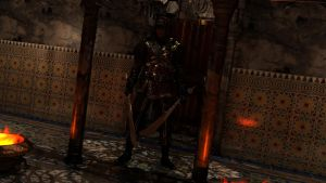 Arabesque Close up 1 The Assassin by archangel72367