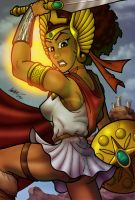 Afr-Am She-Ra by anubis2kx