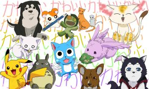 Cutest anime creatures! by jadza54