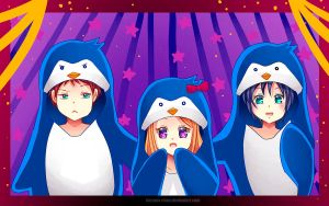 -- MP: Fun with penguims -- by Kurama-chan