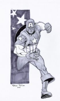 Captain America by TheAdrianNelson