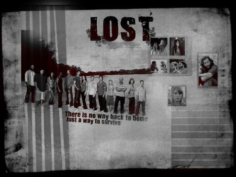 LOST Wallpaper by writingimperfection