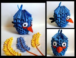 Angry Bird - Blue by Rajlakshmi