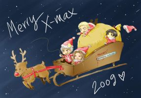 APH_Merry Christmas by Sadyna