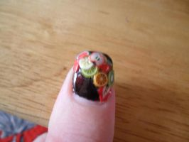 Fruit Salad Nail Art by jazzyjazz666