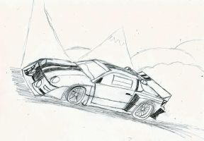 Ford Rs200 by romeroanchovy