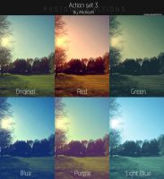 Photoshop Actions set 3 by iNicKeoN