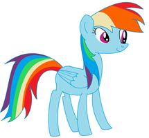 Rainbow Dash by Scootsgaming