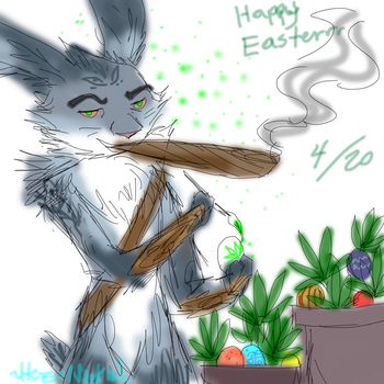 Happy Easter420 by HezuNeutral