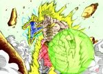 Brolly vs Vegeta by ssjgogeto