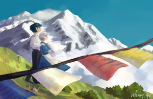 Howl's Moving Castle by Yiamme
