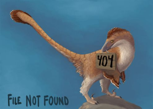 A Very Fluffy 404 by EWilloughby