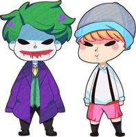minichibis: key jokerkey by krixing