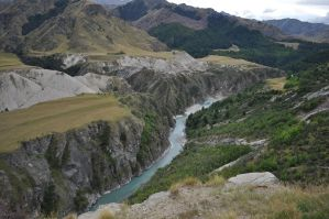 shotover river by iRISSIEL