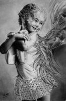 Magic dark light graphite pencil by MM-ARTDrawing