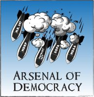 Arsenal of Democracy by gonzoville