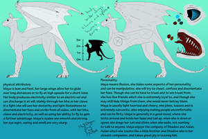 Maya ref by 768dragon