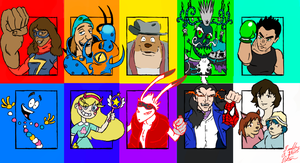 Heatstroke2008's 10 Honorary Favorite Characters by TheZoologist