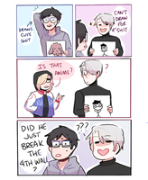 YOI: BREAKING THE 4TH WALL by Randomsplashes
