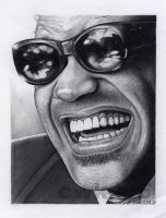 Ray Charles by cwk415