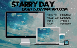 Starry Day by Caseyls