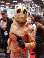 The rocketter at NYC Comic Con 2013 by FUBARProductions