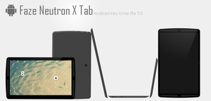 Faze Neutron X Tab - Android Tablet by TheTechnikStudios