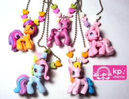 ponys necklace by KPcharms