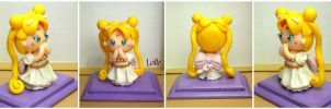 Fimo Princess Serenity by LolleBijoux