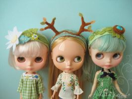 Blythe Headbands by merwing