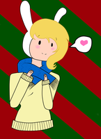 merry christmas-fionna by suprechibixhibimoon