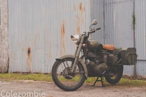 Royal Enfield by colezombie