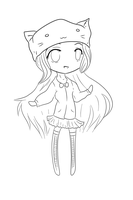 Chibi Sketch [ Lines] by Color-Casmos