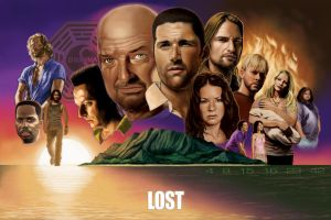 Lost Poster 24x36 by DarklighterDigital
