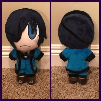 Ciel plushie by Technoloaf