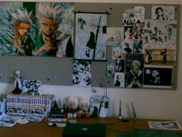 Hitsugaya Fangirls Room by Dwellin