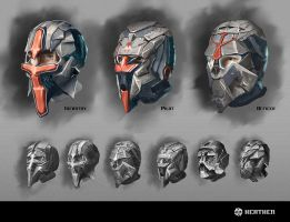 Helmet Concepts by Long-Pham