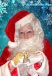 SANTA ME AND THE GECKOS! by NocturneJewel