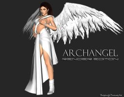 ArchAngel Lara Render by bstylez
