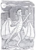 The N.Y Dragon by XenoPredDragon