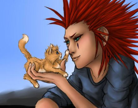 KH: Little ball of fur by Yes-No-Maybe-13
