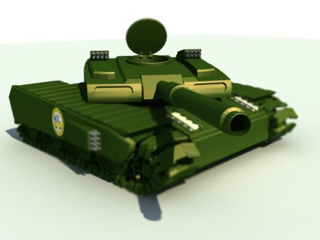 tank wip 2nd render by somberguy