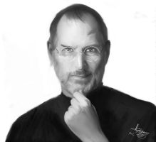 Steve Jobs by FrLegolas