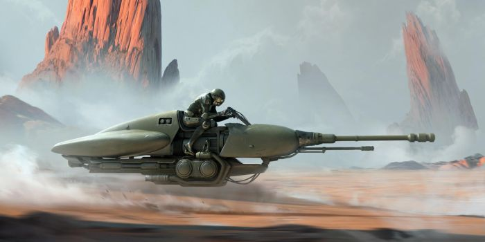 Speeder by Thuberchs