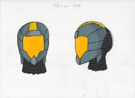 Helmet Concept by Dawnisrising