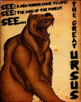 THE GREAT URSUS by Gojigirl