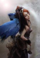 hair change Steampunk Angel by cdlitestudio