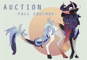 Fall Equinox **HOLIDAY SPECIALTY AUCTION!** CLOSED by Sindonic