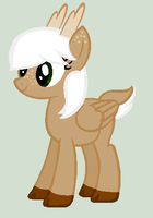 Deer Pony Adopt (Closed) by RaindropLily