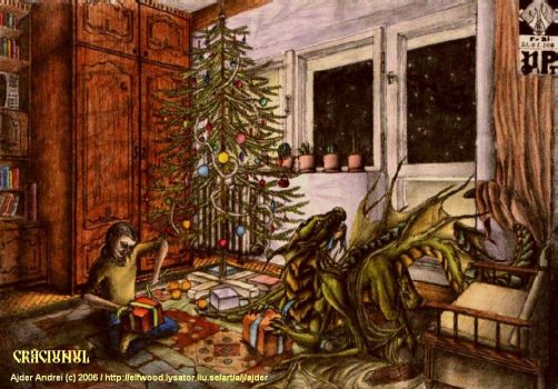Christmas Night by ajder